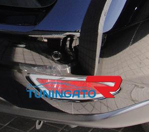 Хромированные накладки на задние фонари в бампер для RX350/RX450h 09~