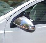 Хромированные накладки на зеркала заднего вида для Nissan Qashqai\ Q2\ Dualis