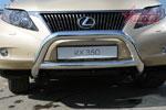 Lexus RX 350 2009 Решетка передняя мини d76 низкая с перемычкой d60