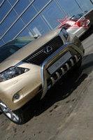 Lexus RX 350 2009 Решетка передняя мини d76 низкая с нижней защитой