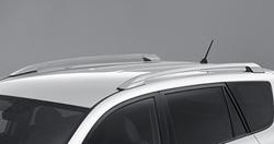 Рейлинги на крышу серые для TOYOTA VANGUARD