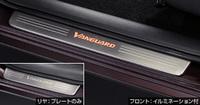 Накладки с подсветкой на пороги для Toyota Vanguard