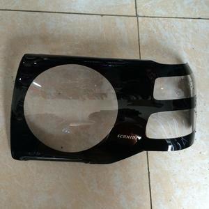 Очки на фары черные с кругом для MITSUBISHI PAJERO 90-97г.