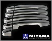 Хромированные накладки на ручки, комплект 4шт., новые, Япония для Toyota -  Caldina(2003~)