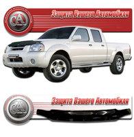 Дефлектор капота (черный) для Nissan Datsun 2003-