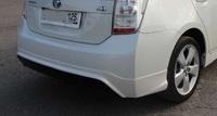 Накладка на задний бампер Modellista Toyota Prius 2009-up
