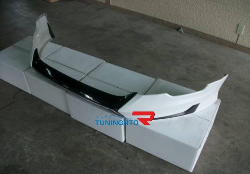 Губа на передний бампер Modellista для Toyota Harrier 2014-17г