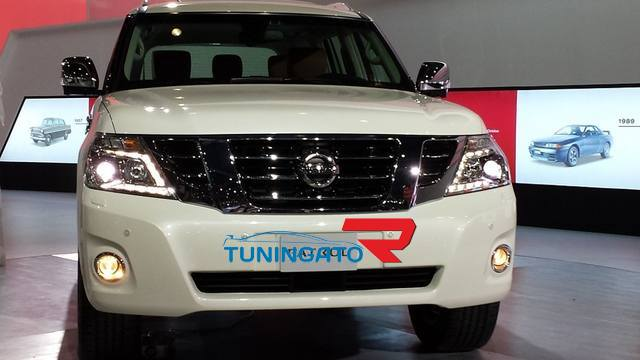 Решетка рестайлинговая для Nissan Patrol 2010