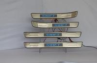 Накладки на пороги с подсветкой для SUZUKI SWIFT