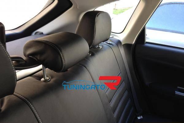 Модельные чехлы для Mitsubishi DELICA D5 2012г черные