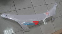 Дефлектор капота (шелкография белая, черна, карбон) для TOYOTA NADIA\ Type Su (98-03)