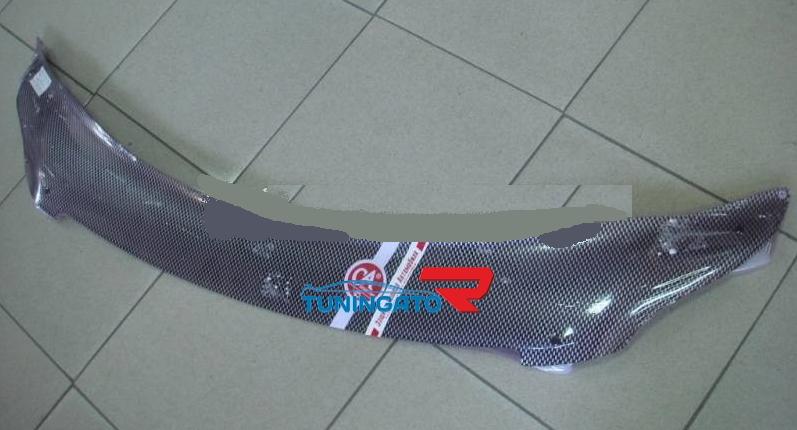 Дефлектор капота (карбон серебро) TOYOTA PREMIO 2007
