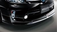 Накладка на передний бампер Modellista для Toyota Prius 2011-up