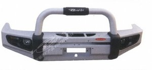 Бампер передний алюминьевый F803-3B F803-3B-AL TOYOTA LAND