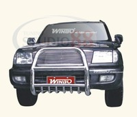 Кенгурятник передний хром для TOYOTA LAND CRUISER 100 (1998-2006)