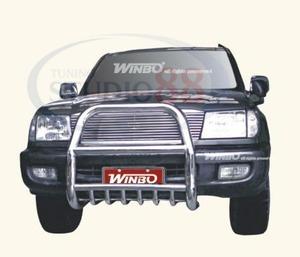 Кенгурятник передний хром для TOYOTA LAND CRUISER 100 (1998-2006)