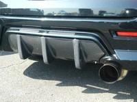 Дифузор на задний бампер, DUCKS-GARDEN AERO SPOILER, карбон, новый, Япония для Toyota Caldina 2001-