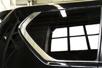 Хром молдинги стекла (отсечки окон) стиль Lexus GX460