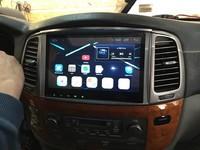 Автомагнитола Toyota Land Cruiser 100(1998-2007) Lexus LX-470 Android