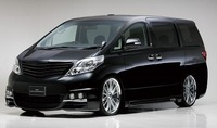 Обвес (тюнинг) - WALD SPORTS LINE BLACK BISON EDITION для Toyota Alphard 2008-