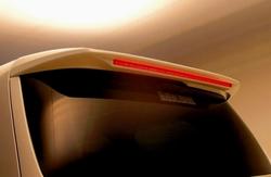 Спойлер на заднию дверь на Toyota ALPHARD (2008-)