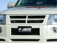 "Тюнинговая решотка радиатора Jaos"" на MMC Pajero V93 07"""