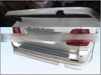 Накладка на задний бампер (юбка) для Land Cruiser 100