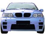 Тюнинговый бампер EUROLINEAS на BMW X5 E53