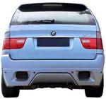 Тюнинговый задний бампер EUROLINEAS BMW X5 E53