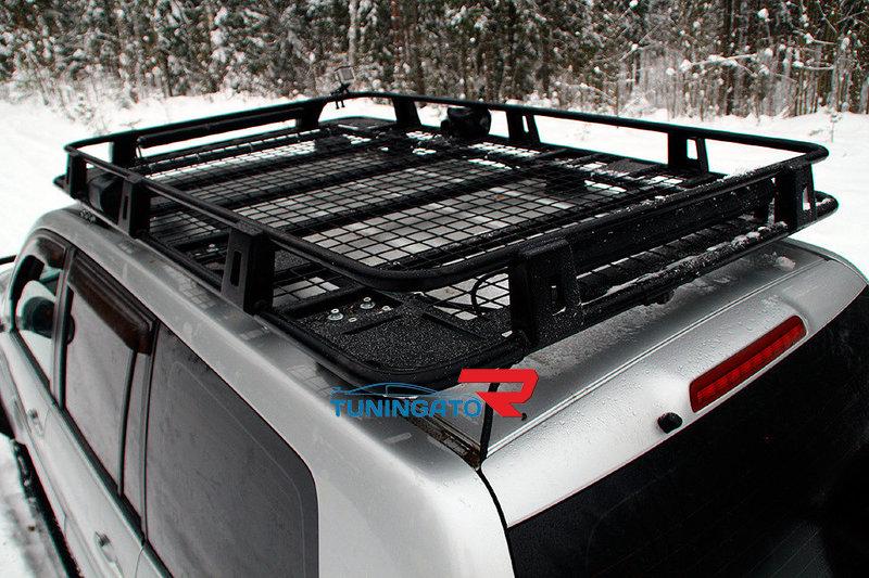 Багажник TOYOTA LAND CRUISER 200 (2008-) цельносварной металлический