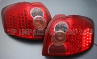 Тюнинговые диодные стоп сигналы (красные) на TOYOTA AURIS