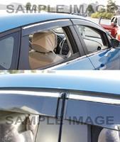 Ветровеки на двери, комплект 4шт. оригенал, с крепежами, для Mitsubishi ASX \ RVR 2010