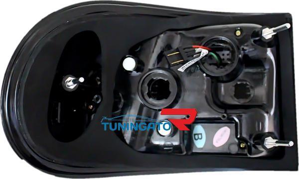 Стоп-сигналы LED черные для TOYOTA FJ CRUISER
