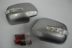 Накладки с поворотниками на уши, под покраску, на TOYOTA ALPHARD (2002-)