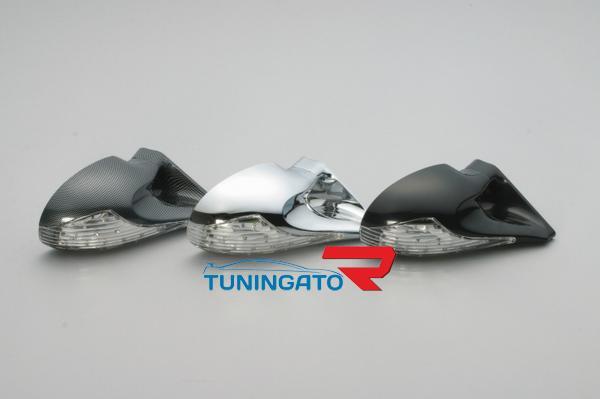 Тюнинговый зеркала заднего вида с диодными поворотниками для JZX90 GX90 CRESTA