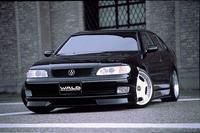 Накладка на передний бампер (губа) WALD на Aristo 92'-97' (Lexus GS300 )