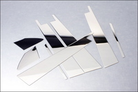 Хром накладки на дверные стойки 625-FJ200-08 LAND CRUISER 200 (07-)
