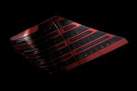 Тюнинговые диодные стоп-сигналы темно-красне\хром для Toyota ALPHARD (2008-)