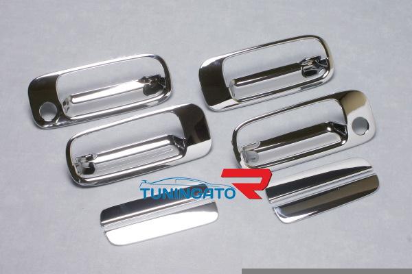 Хромированные накладки на дверные ручки для Toyota Chaser 96-2001г