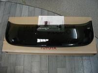Дефлектор на люк, пластик, Япония для Toyota Mark X 2010г.