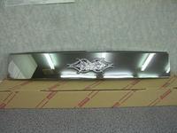 Хромированная решотка радиатора с неоновой подсветкой лэйбой - MARK для TOYOTA BB (00-06-)