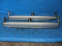Подножки боковые на кузов для Nissan Terrano 2 / Mistral