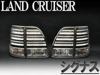 Стоп-сигналы (Белые в стиле LEXUS) LAND CRUISER 100