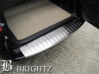 Декоративная металлическая накладка на задний бампер для Toyota Rav-4 2006-12г.