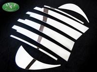 Хромированные накладки на дверные стойки , комплект из 8 шт. для Toyota Aristo JZS160 97-02г.\ Lexus GS300