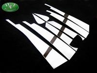 Хромированные накладки на дверные стойки, комплект из 8шт. для Toyota Alphard 2008г.-