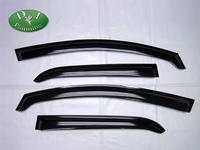 Дефлектора на двери (ветровеки) на Toyota Auris (черные)