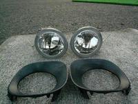 Противотуманные фары в передний бампер, комплект с проводами и крышками для TOYOTA ALLION 2001+