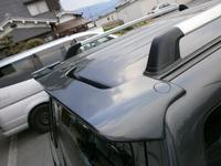 Спойлер на заднию дверь на Pajero Mini. Подходящая модель H56A H58A H53A