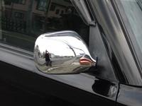 Хромированные накладки на зеркала заднего вида, комплект 2шт. новые для TOYOTA NADIA \ Type Su(98-03)